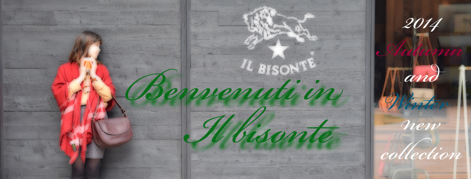 IL BISONTE�ʥ���ӥ���ơ�2014 A/W new collection